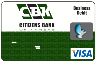 Citizens Bank of Kansas Business Card