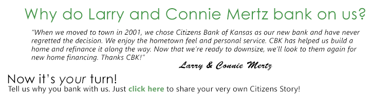 Larry and Connie Mertz